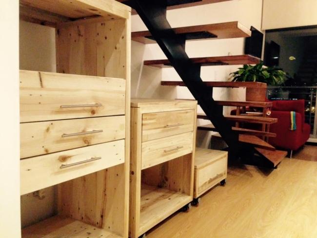 Pallet Movable Storage Racks Pallet Ideas