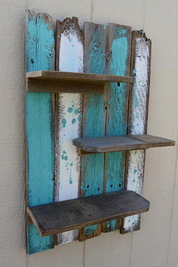 Hanging Shelf Pallet Shelf Wall Shelf