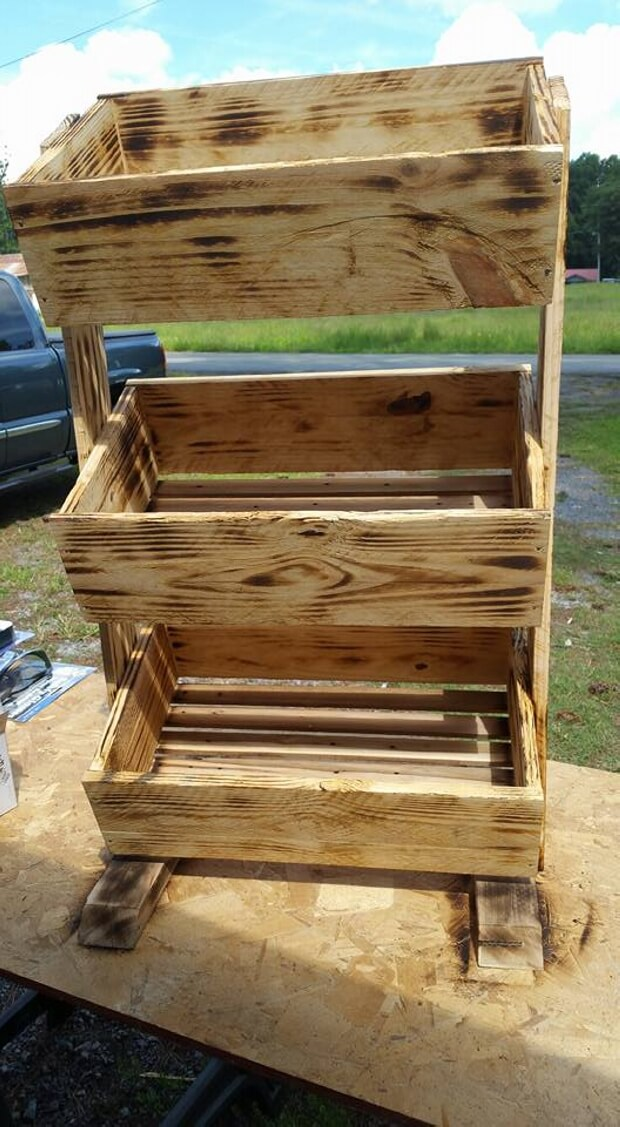 Pallet Wooden Tater Box | Pallet Ideas