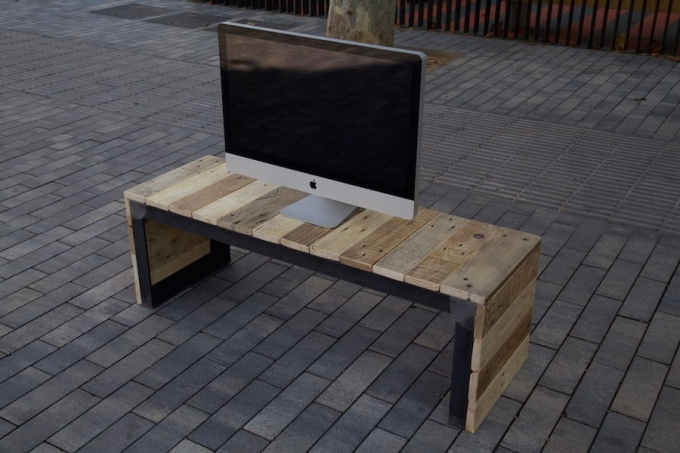 Pallet Tv Stand reclaimed pallet tv stand / console | pallet ideas: recycled