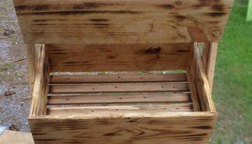Pallet Wooden Tater Box