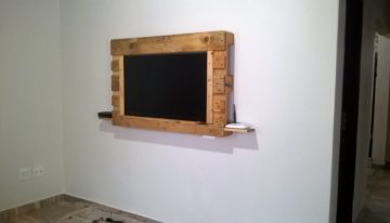 DIY Pallets TV Stand