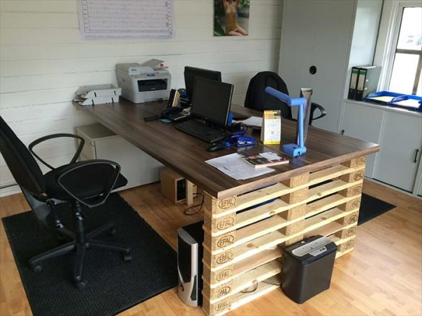Pallet Projects For Computer Desk Tables Pallet Ideas
