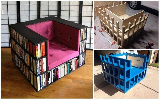 Pallet Chairs for Book Lovers | Pallet Ideas