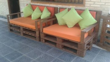 Pallet Couches for Lounge