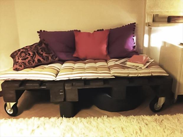 Pallet Bed Frame Room Ideas