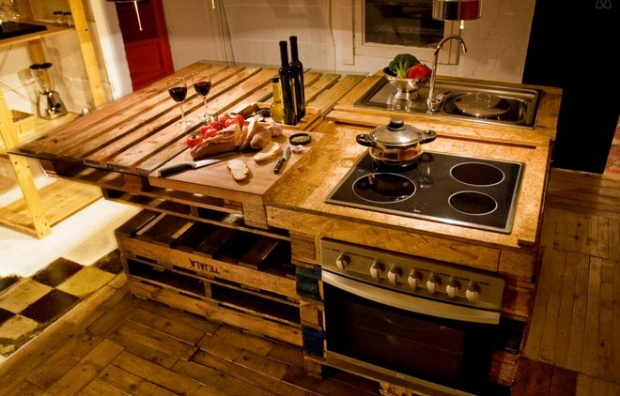 Kitchen Island Out Of Pallets pallet projects for kitchen   pallet ideas: recycled / upcycled
