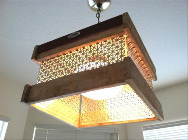 Pallet Lights Ideas