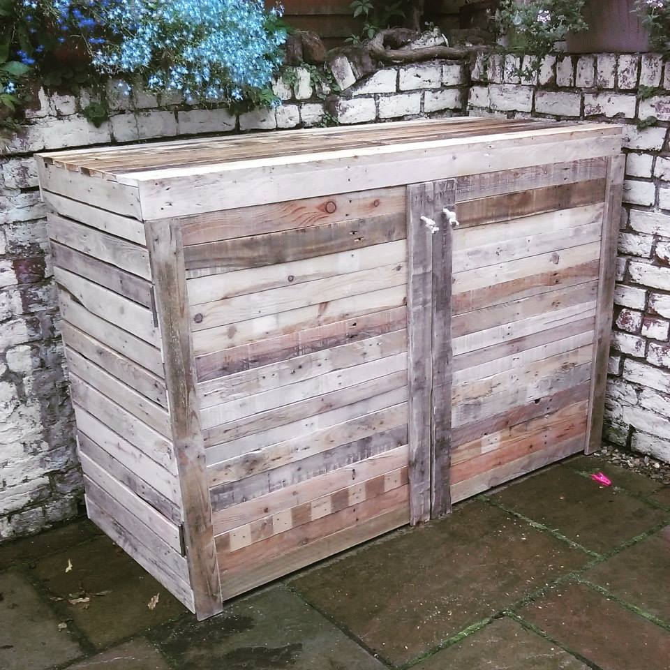 Upcycled Pallet Bike Shed Ideas Recycled