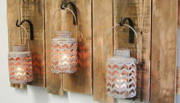 Reclaimed Pallet Wall Decorations