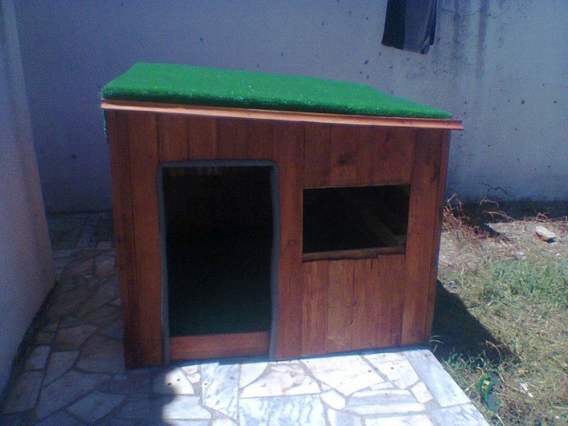 Playhouse Out of Wood Pallets