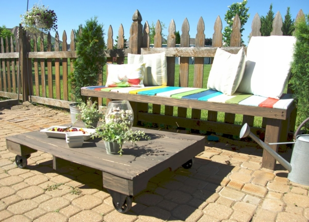 Pallet Furniture Projects With Wheels Pallet Ideas