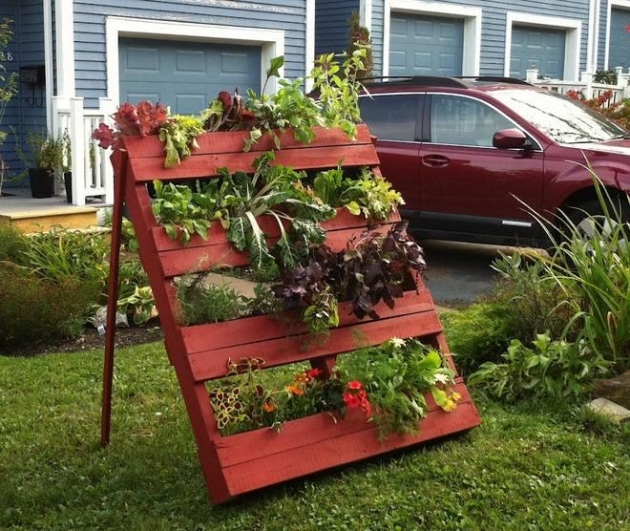 Cheap Gardening Ideas: 50 Pallet Ideas For Home Decor