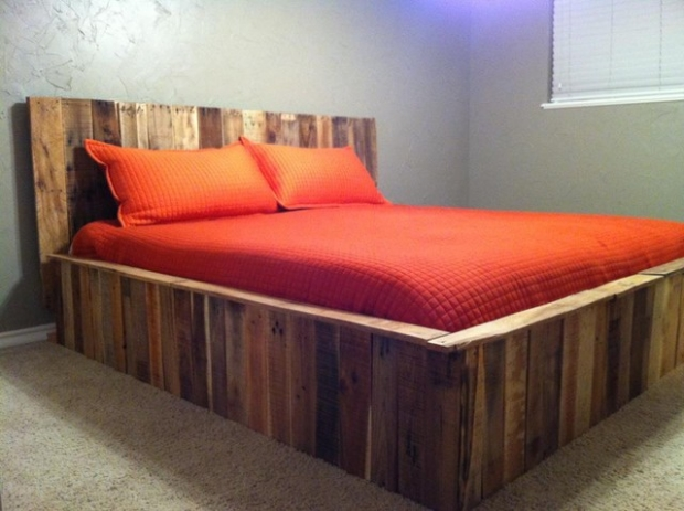 Stunning used pallet projects pallet ideas recycled for Beds made with pallets