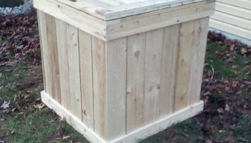 Outdoor Pallets Storage Box