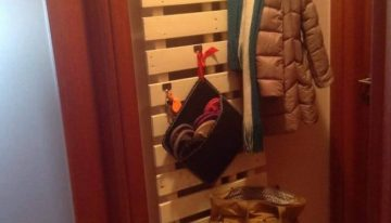 Pallet Coat / Purse Hanger