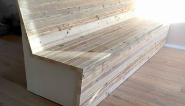 Pallet Couch with Storage
