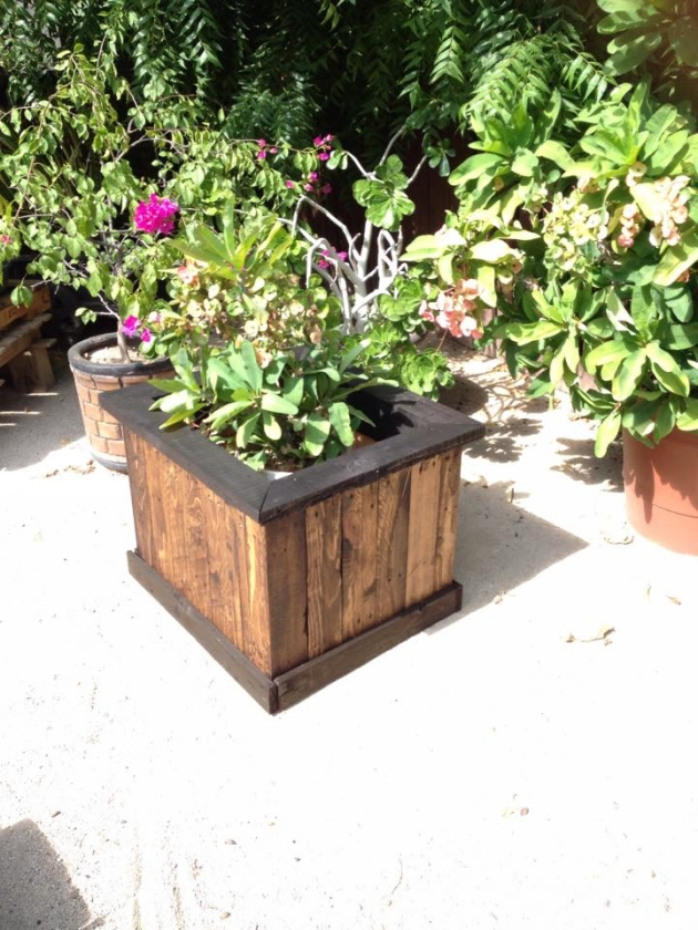 Pallet Garden Planter Box Ideas Recycled