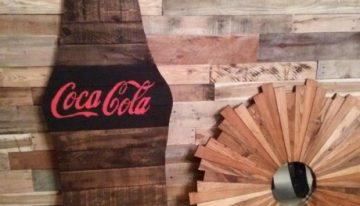 Pallet Wooden Wall Decor