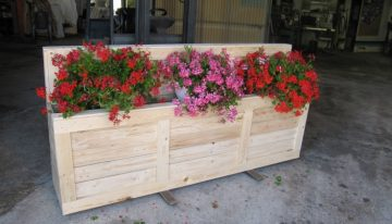 Pallet Wooden Planter Box