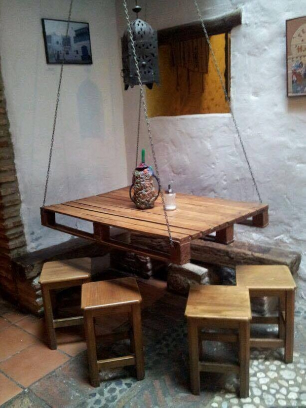 wooden pallet made table ideas pallet ideas recycled