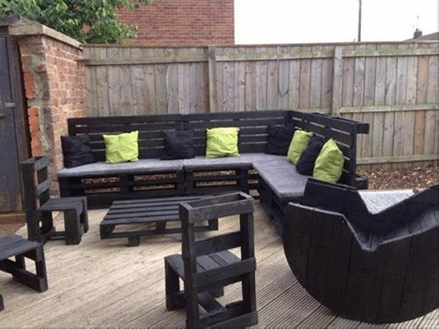DIY Pallet Sofa Ideas And Plans Ideas Recycled