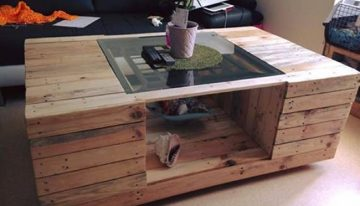 Interesting Pallet Made Table