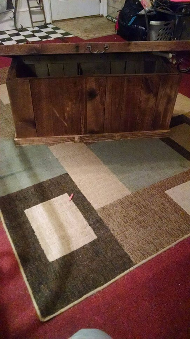 ... Cum Coffee Table Is Going To Be Great. I Just Can Not Resist To Praise  The Smart Crafter Who Has Planned And Executed This Smart Plan. Pallet  Toybox