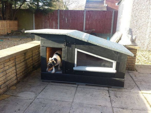 Houses for Dogs Made with Pallets | Pallet Ideas