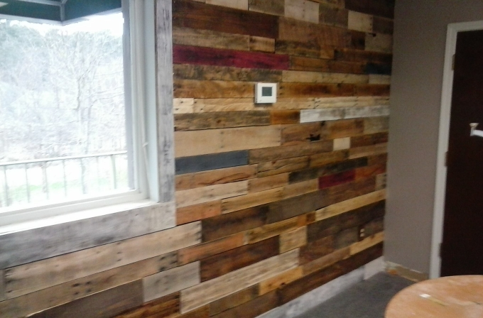 Wood Pallet Wall Art wall art out of wooden pallets | pallet ideas: recycled / upcycled