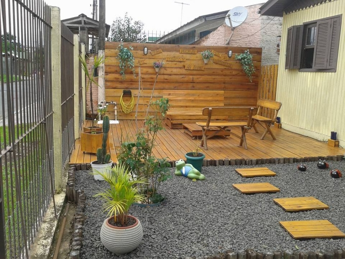 Pallets Made Garden Deck Pallet Ideas Recycled