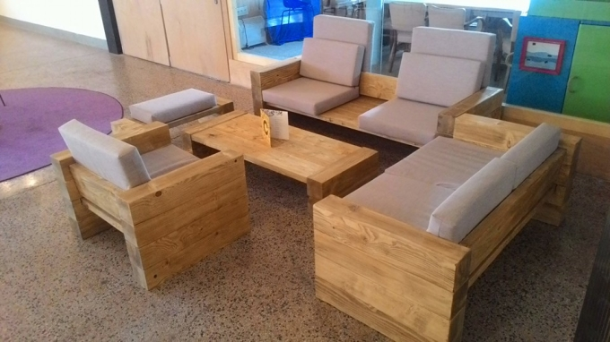 Wooden Pallet Couch Set Ideas Recycled