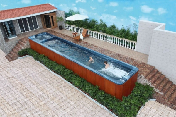 Pallet hot tub and pool deck ideas pallet ideas for Wooden pool