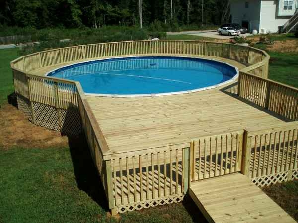 Pallet hot tub and pool deck ideas pallet ideas recycled upcycled pallets furniture projects - Pool patio design ...