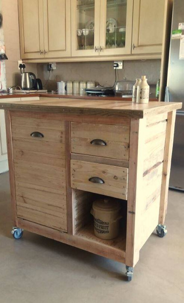 Pallet wood recycling project ideas pallet ideas for Eco friendly kitchen products