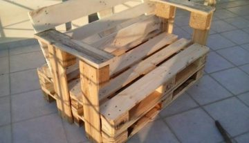 Armchairs From Repurposed Pallets Wood