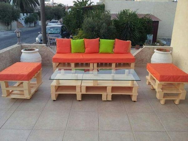 Outdoor Furniture Pallet Projects Ideas Recycled