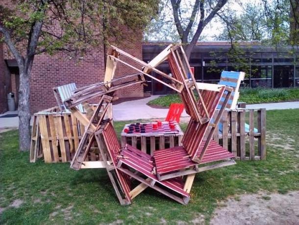 Amazing Pallet Installation Ideas | Pallet Ideas
