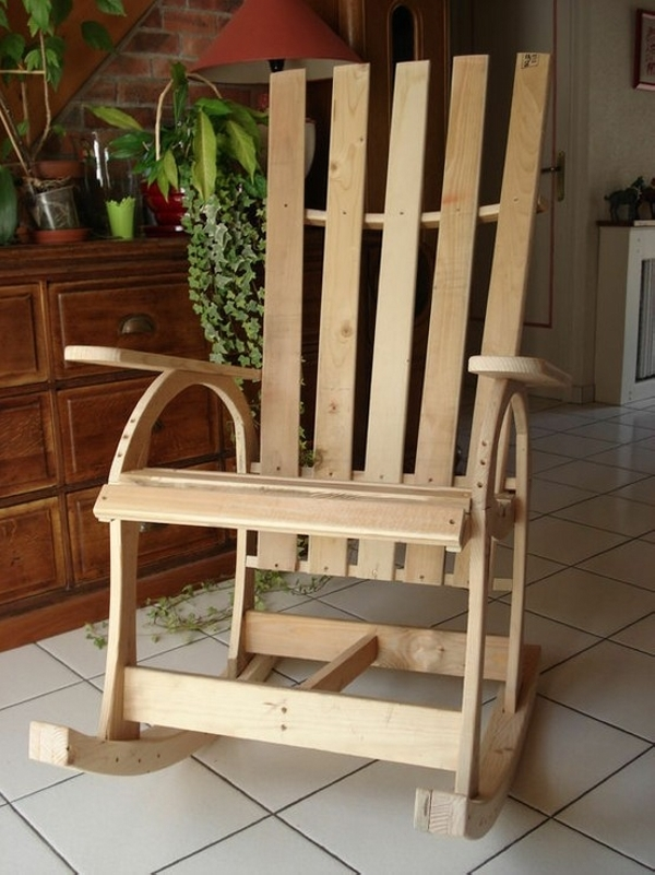 ideas for pallet rocking chairs pallet ideas recycled. Black Bedroom Furniture Sets. Home Design Ideas