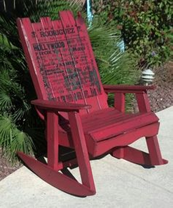 Ideas for Pallet Rocking Chairs – Pallet Ideas: Recycled / Upcycled ...