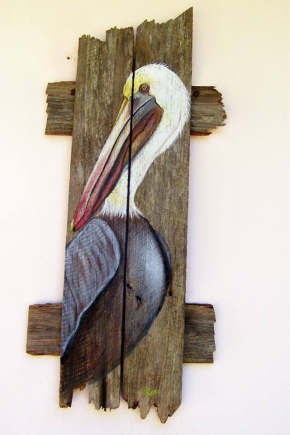 Wall Decor Ideas with Pallets | Pallet Ideas