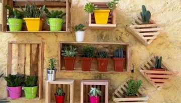 Recycled Pallet Planter Ideas