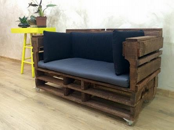 Wooden Pallet Recycled Sofa Pallet Ideas Recycled