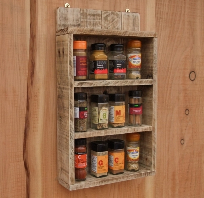 Pallet Shelf Ideas For Kitchen