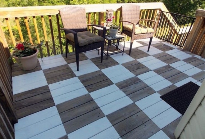 Pallet Garden Deck Floor Ideas Pallet Ideas
