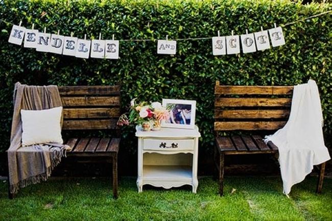 Pallet Garden Decor Furniture