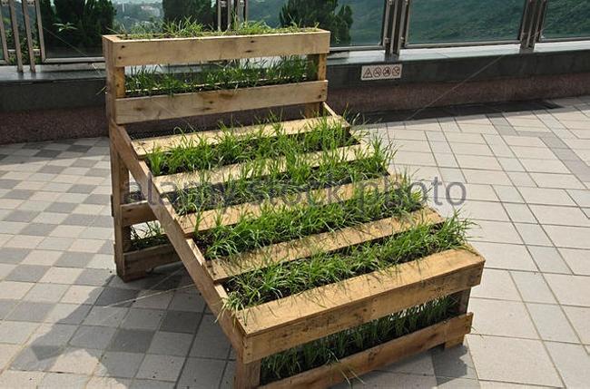 Pallet Garden Decor Herb Planter
