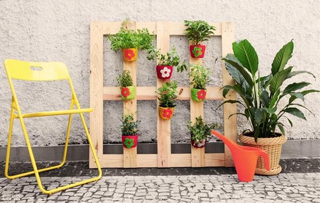 Pallet Garden Decor Planter