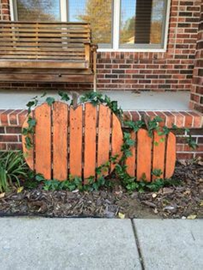 pallet garden decorations  pallet ideas, Garden idea