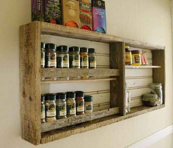 Pallet Shelves Ideas: Pallet Shelf Ideas For Kitchen
